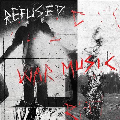 Refused - War Music (Limited Edition, Bright Red Vinyl, LP)