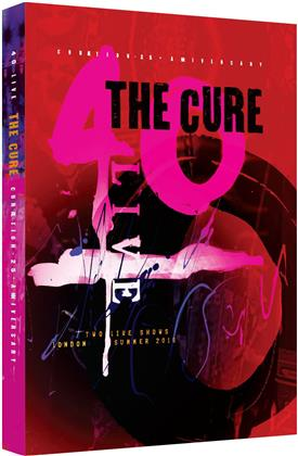 The Cure - Curaetion (25th Anniversary Edition, Limited Edition, Mediabook, 2 Blu-rays)