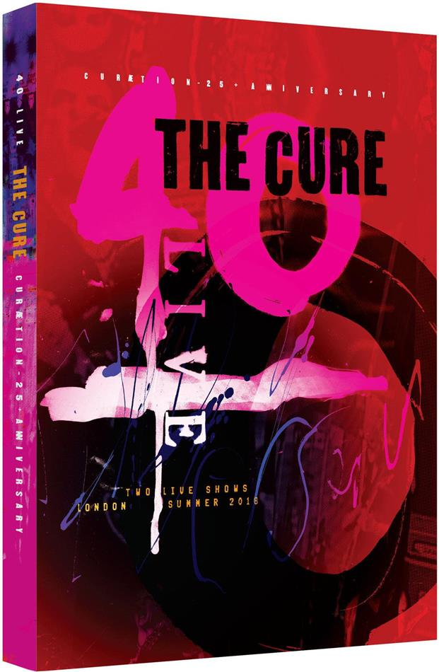The Cure - Curaetion (25th Anniversary Edition, Limited Edition, 2 Blu-rays)