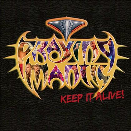 Praying Mantis - Keep It Alive (CD + DVD)
