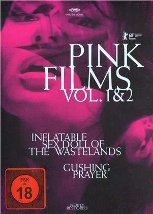 Pink Films Vol. 1 & 2 - Inflatable Sex Doll of the Wastelands / Gushing Prayer (2 Blu-rays)