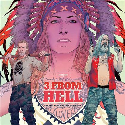 Rob Zombie - 3 From Hell - OST (Red, Black Smoke & Purple Vinyl, 2 LPs)
