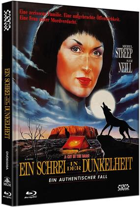 Ein Schrei in der Dunkelheit (1988) (Cover A, Limited Edition, Mediabook, Blu-ray + DVD)