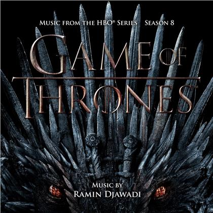 Ramin Djawadi - Game Of Thrones: Season 8 - OST (Papersleeve Limited Edition, Limited Edition, 3 LPs)