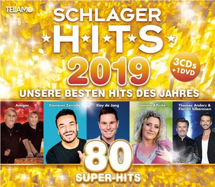 Schlager Hits 2019 (CD + DVD)