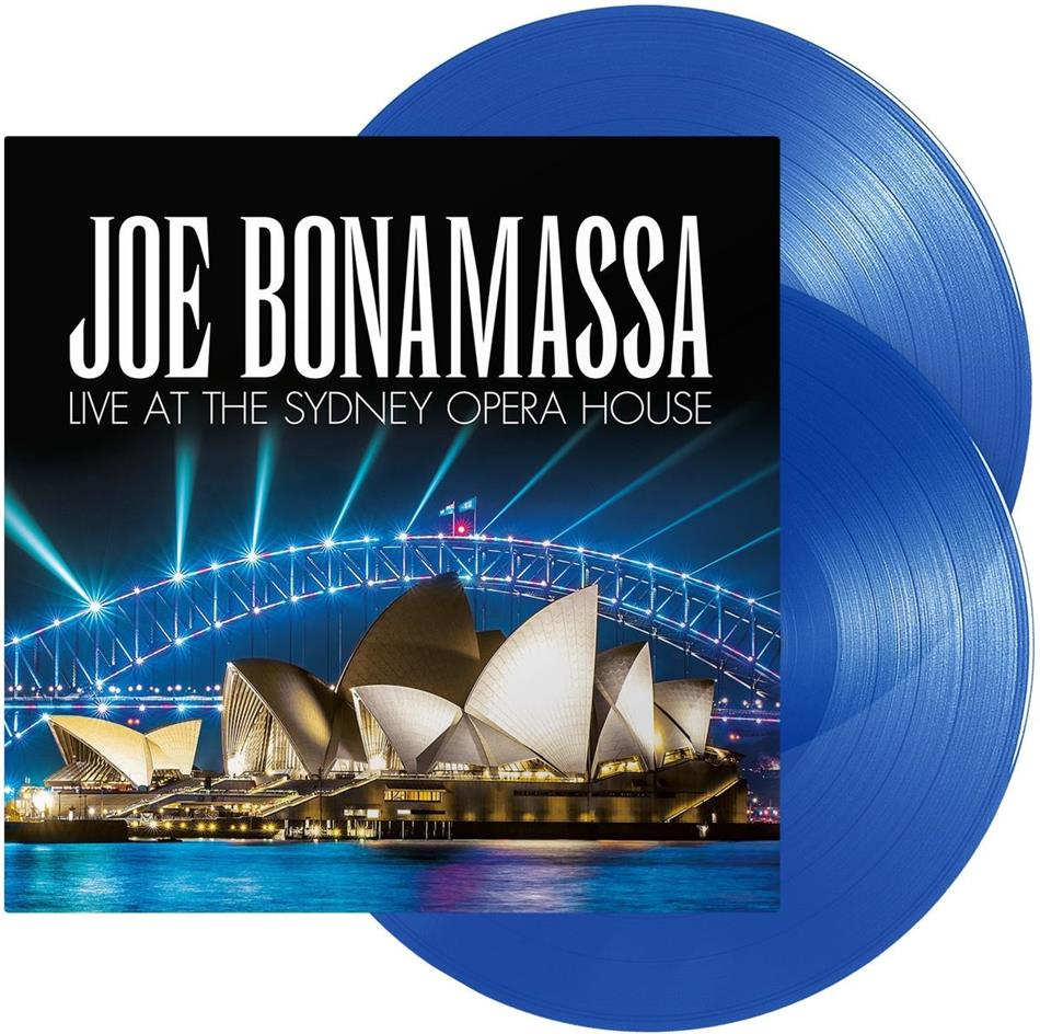 Joe Bonamassa - Live At The Sydney Opera House (Blue Vinyl, 2 LPs)