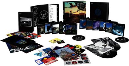 "Pink Floyd - The Later Years (1987-2019) (Boxset, Sony Legacy, 5 CDs + 6 Blu-rays + 5 DVDs + 2 7"" Singles + Buch)"