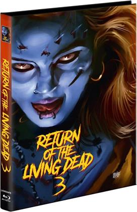 Return of the Living Dead 3 (1993) (Cover C, Limited Edition, Mediabook, Unrated, Blu-ray + 2 DVDs)