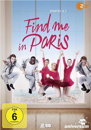 Find me in Paris - Staffel 2.1 (2 DVDs)