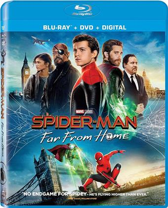 Spider-Man: Far From Home (2019) (Blu-ray + DVD)