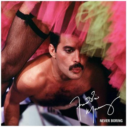 Freddie Mercury - Never Boring (Limited Boxset, 3 CDs + DVD + Blu-ray)
