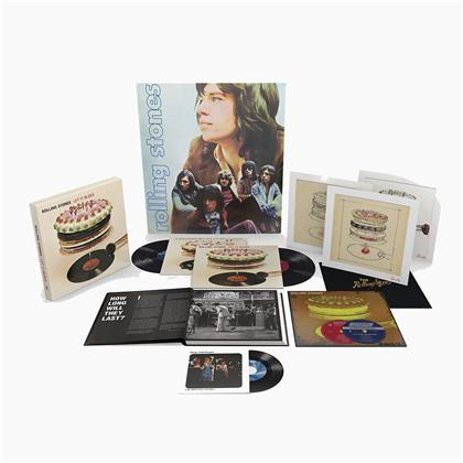 "The Rolling Stones - Let It Bleed (Boxset, 2019 Reissue, 50th Anniversary Edition, 2 LPs + 7"" Single + 2 Hybrid SACDs)"