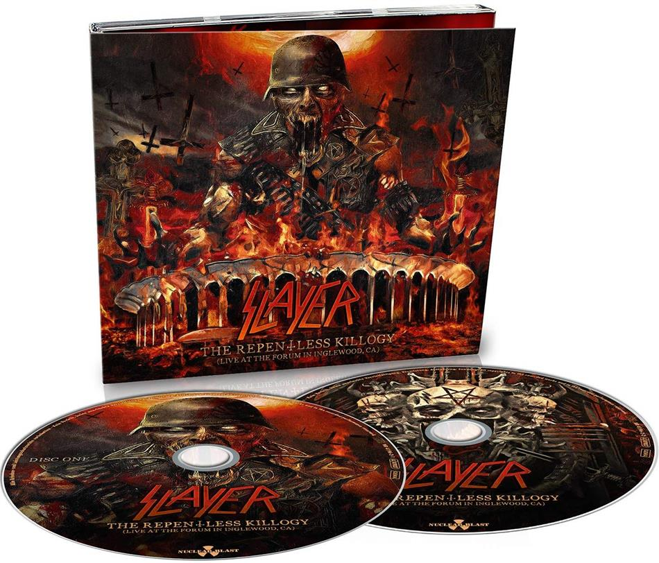 Slayer - The Repentless Killogy - Live At the Forum Inglewood (Digipack, 2 CDs)