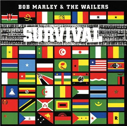 Bob Marley - Survival (Limited Edition, Transparent Clear Vinyl, LP + CD)