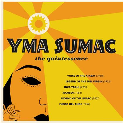 Yma Sumac - The Quintessence (Boxset, 3 CDs)