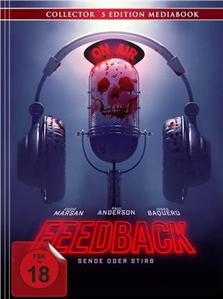 Feedback - Sende oder stirb (2019) (Collector's Edition, Mediabook, Blu-ray + DVD)