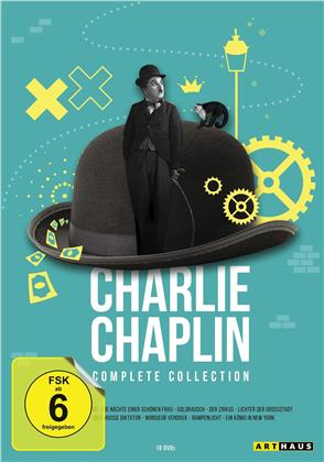 Charlie Chaplin - Complete Collection (12 DVDs)