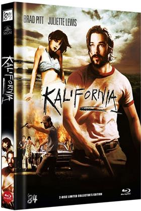 Kalifornia (1993) (Cover B, Limited Collector's Edition, Mediabook, Uncut, Blu-ray + DVD)