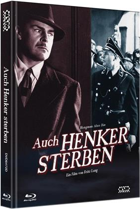 Auch Henker sterben (1943) (Cover D, Limited Collector's Edition, Mediabook, Blu-ray + DVD)