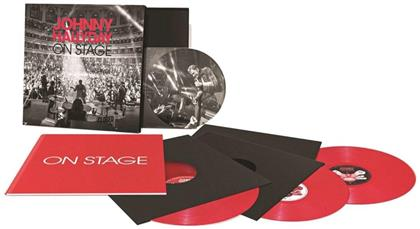 Johnny Hallyday - On Stage (Boxset Edition Collector, 4 LPs)