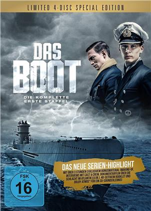 Das Boot - Staffel 1 (Digipack, Schuber, Limited Edition, Special Edition, 4 Blu-rays)