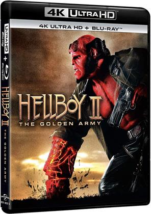 Hellboy 2 - The Golden Army (2008) (4K Ultra HD + Blu-ray)