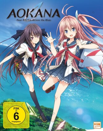 Aokana - Four Rhythm Across the Blue (Gesamtedition, 2 Blu-rays)