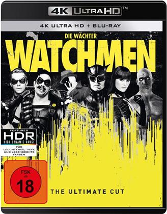 Watchmen (2009) (Ultimate Cut, 4K Ultra HD + Blu-ray)