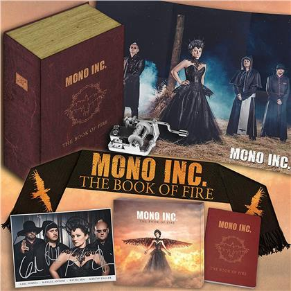 Mono Inc. - The Book Of Fire (Limited Boxset, CD + DVD)