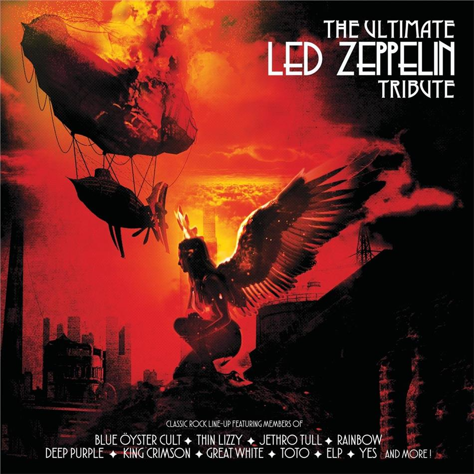 Ultimate Led Zeppelin Tribute (Limited Edition, Red Vinyl, LP)