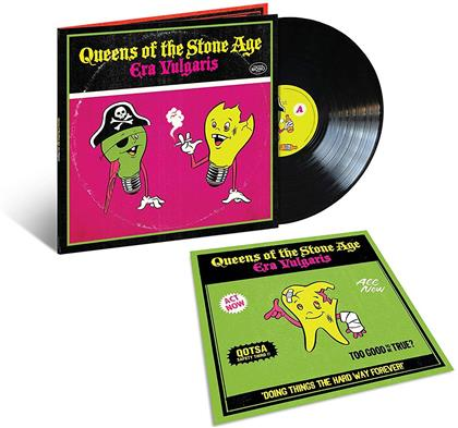 Queens Of The Stone Age - Era Vulgaris (2019 Reissue, Gatefold, Anniversary Gatefold Edition, LP)