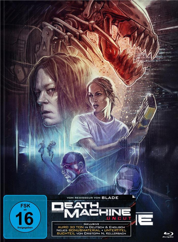 Death Machine (1994) (Cover A, Limited Edition, Mediabook, Uncut, Blu-ray + DVD)