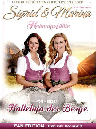 Sigrid & Marina - Halleluja der Berge (Fan Edition, DVD + CD)