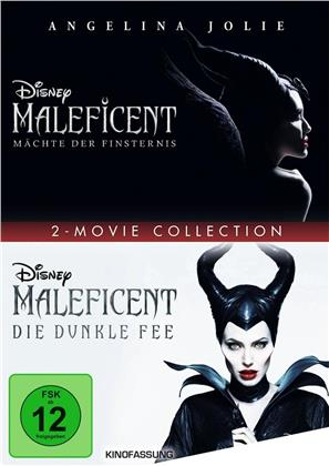 Maleficent - Die dunkle Fee / Maleficent 2 - Mächte der Finsternis - 2 Movie Collection (2 DVDs)