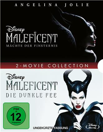 Maleficent - Die dunkle Fee / Maleficent 2 - Mächte der Finsternis - 2 Movie Collection (2 Blu-rays)