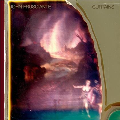 John Frusciante - Curtains (2019 Reissue, Dark Red Vinyl, LP)