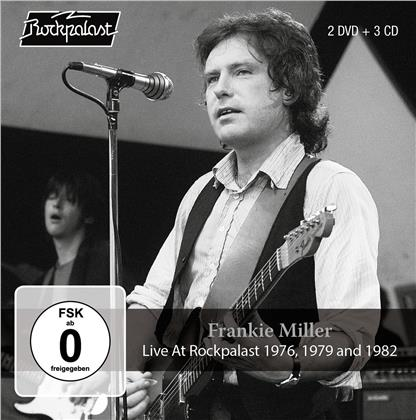 Frankie Miller - Live At Rockpalast 1976, 1979 & 1982 (3 CDs + 2 DVDs)