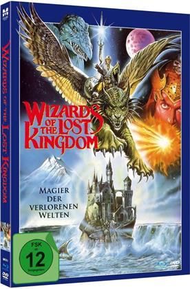 Wizards of the Lost Kingdom - Magier der verlorenen Welten (1985) (Limited Edition, Mediabook, Blu-ray + DVD)