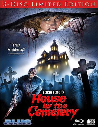 House By The Cemetery (1981) (Limited, 3 Blu-rays)