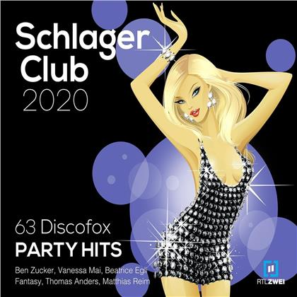 Various - Schlager Club 2020 Vol. 63 Discofox Party Hits: Best of (3 CDs)
