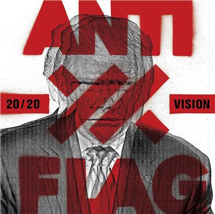 Anti-Flag - 20/20 Vision (Opaque Red Vinyl, LP)