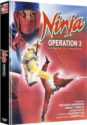 Ninja Operation 3 - Licensed to Terminate (Cover A, Limited Edition, Mediabook, Uncut, 2 DVDs)