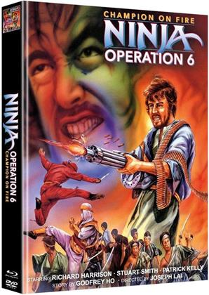 Ninja Operation 6 - Champion on Fire (Cover B, Limited Edition, Mediabook, Blu-ray + DVD)