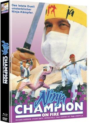 Ninja - Champion on Fire (Cover A, Limited Edition, Mediabook, Blu-ray + DVD)