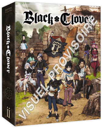 Black Clover - Saison 1 - Box 2/2 (4 DVDs)