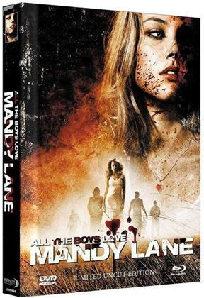 All the Boys Love Mandy Lane (2006) (Cover B, Limited Edition, Mediabook, Uncut, Blu-ray + DVD)