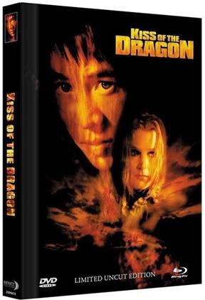 BR+DVD Kiss of the Dragon - 2-Disc Mediabook (2001) (Cover C, Extended Edition, Limited Collector's Edition, Mediabook, Uncut, Blu-ray + DVD)