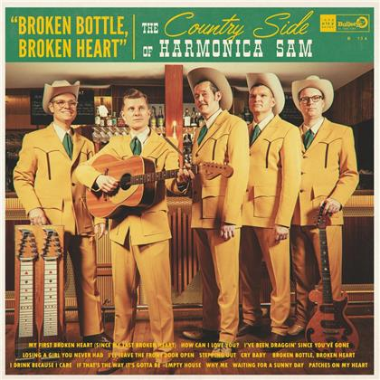 Country Side Of Harmonica Sam - Broken Bottle Broken Heart (LP)