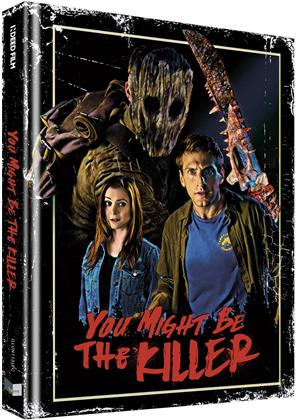 You Might Be the Killer (2018) (Cover C, Limited Collector's Edition, Mediabook, Uncut, Blu-ray + DVD)