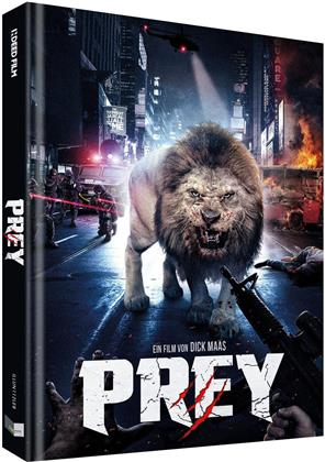 Prey (2016) (Cover B, Limited Collector's Edition, Mediabook, Uncut, Blu-ray + DVD)